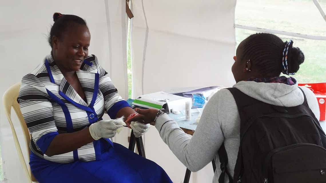 Global Fund/Kenya Red Cross HIV GP, HCBC and E/PMTCT project